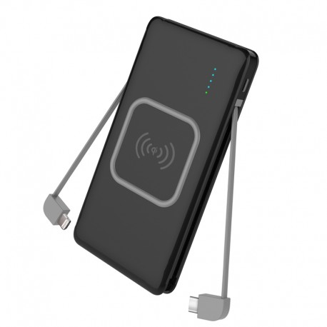 Wireless Power Bank UltraSlim 10000 mah Wayto