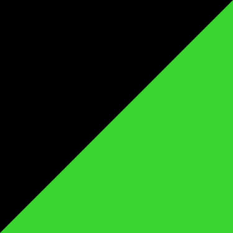 Черно със зелено