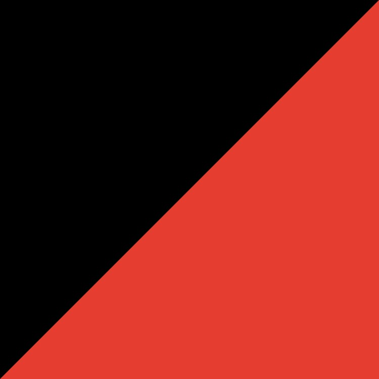 Черно с червено
