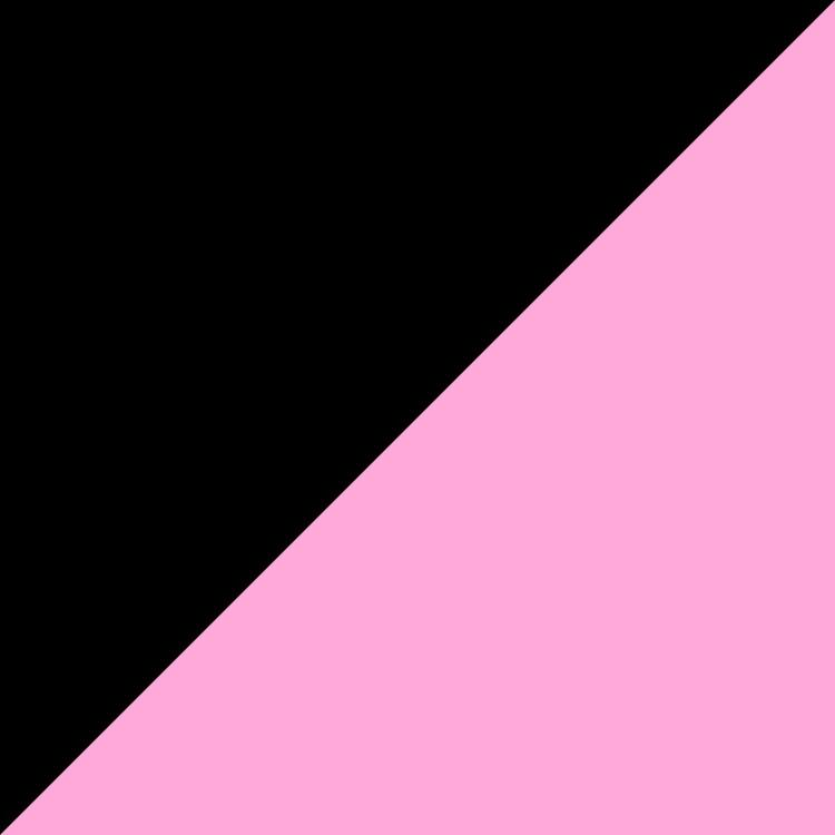 черно с розово
