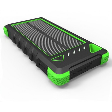Powerbank Wayto 16000 mah Solar panel + LED