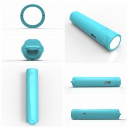 Power Bank с LED фенерче Mini 2600 mah WAYTO