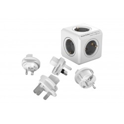 Разклонител, Allocacoc POWER CUBE 1100GY 5 outlets
