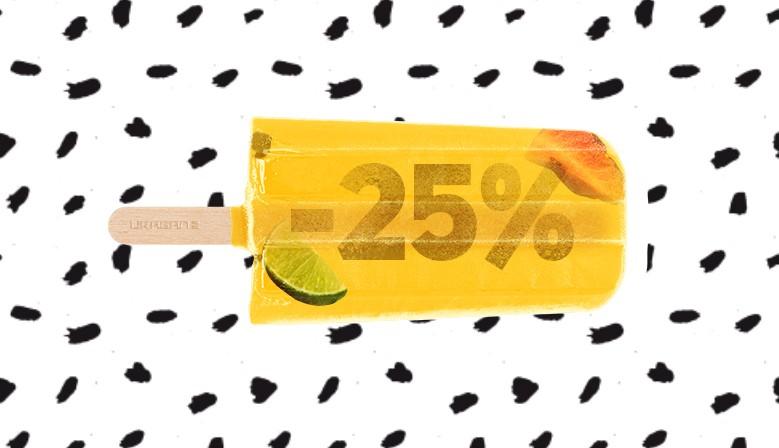 1 june 25% promo